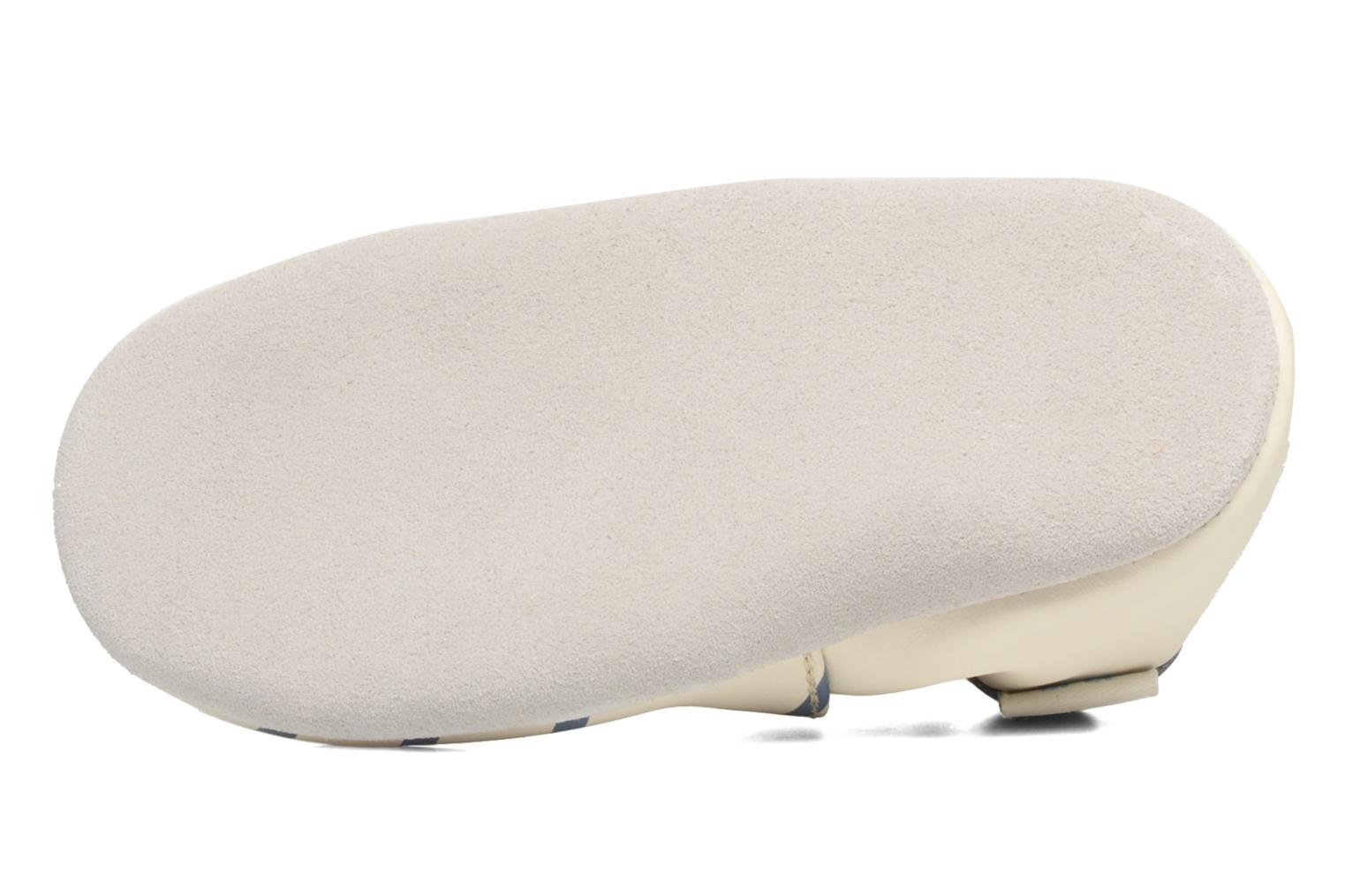 Slippers Robeez Quiet Sea Beige view from above