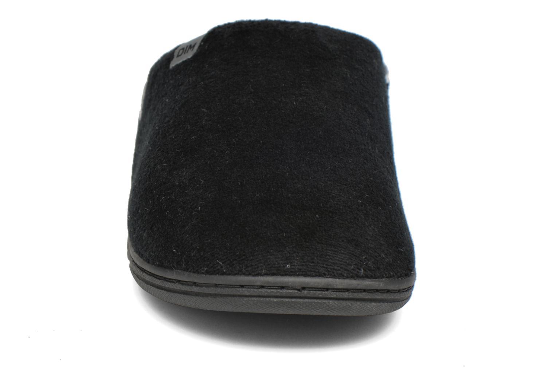 Chaussons Dim D Carl Noir vue portées chaussures