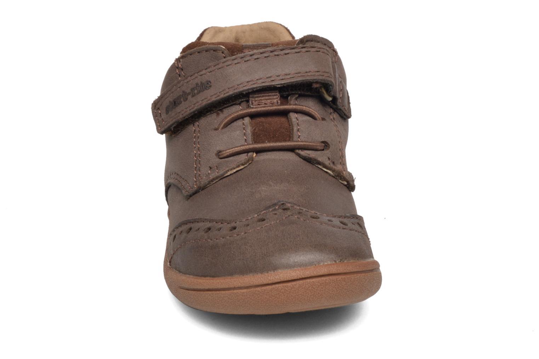 Chaussures à scratch Start Rite SR Super Soft Hugo Marron vue portées chaussures