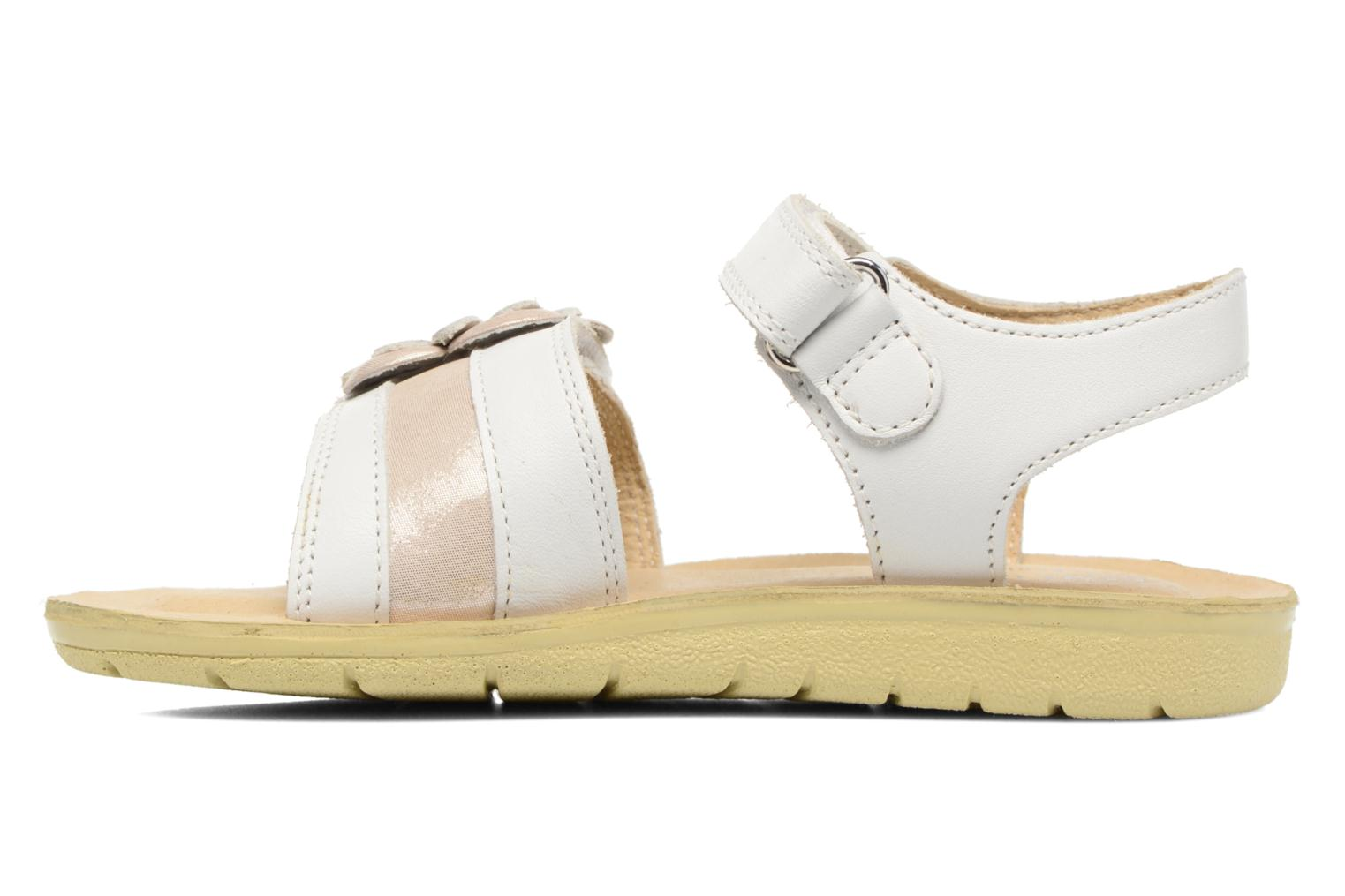 White Clara Leather SR Soft Silver Rite Start UqITRT