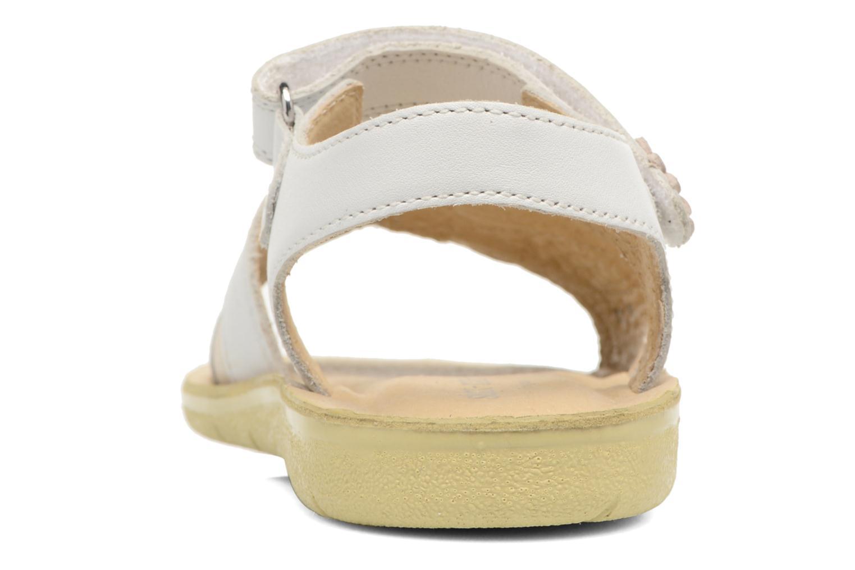 SR Soft Clara White /Silver Leather