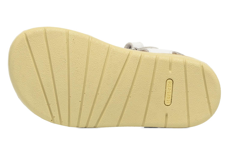 Sandales et nu-pieds Start Rite SR Soft Clara Blanc vue haut