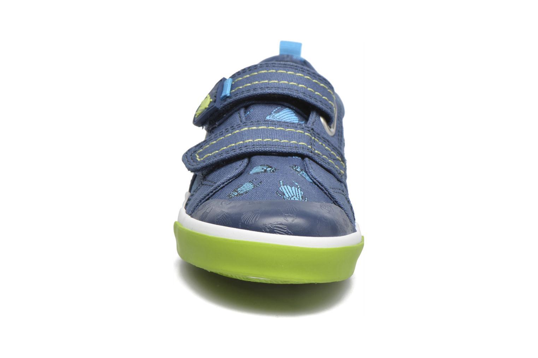 Baskets Start Rite Big Bug Bleu vue portées chaussures