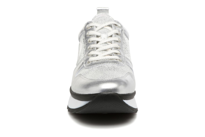 Baskets Pataugas Ocean/S Argent vue portées chaussures