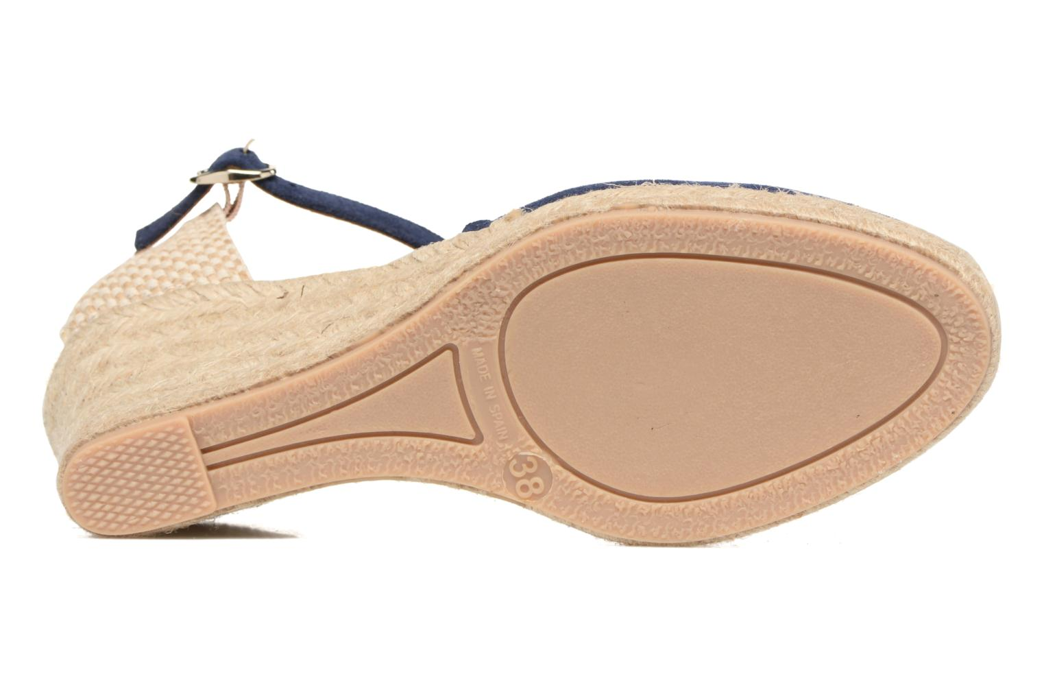 Espadrilles Georgia Rose Dasouplette Blue view from above