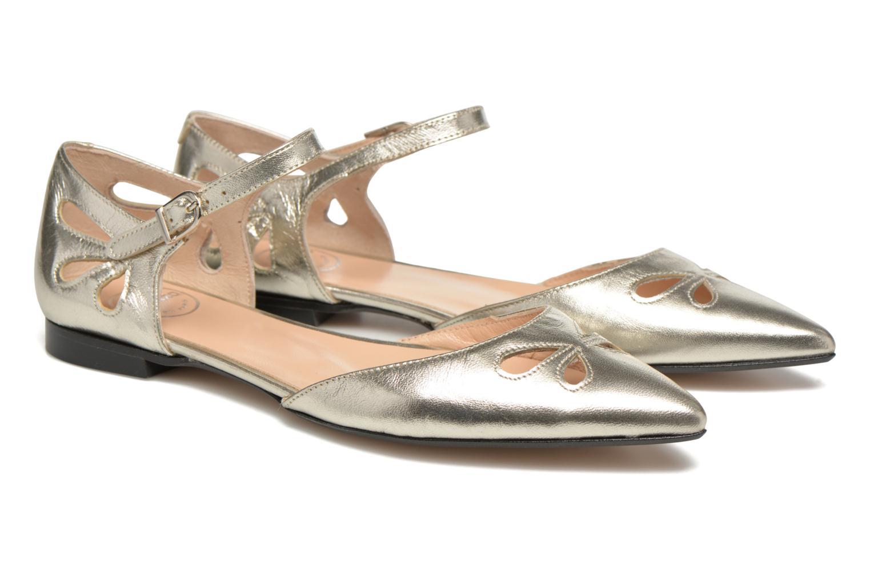 Ballerina's Made by SARENZA Vegas Lipstick #2 Zilver achterkant