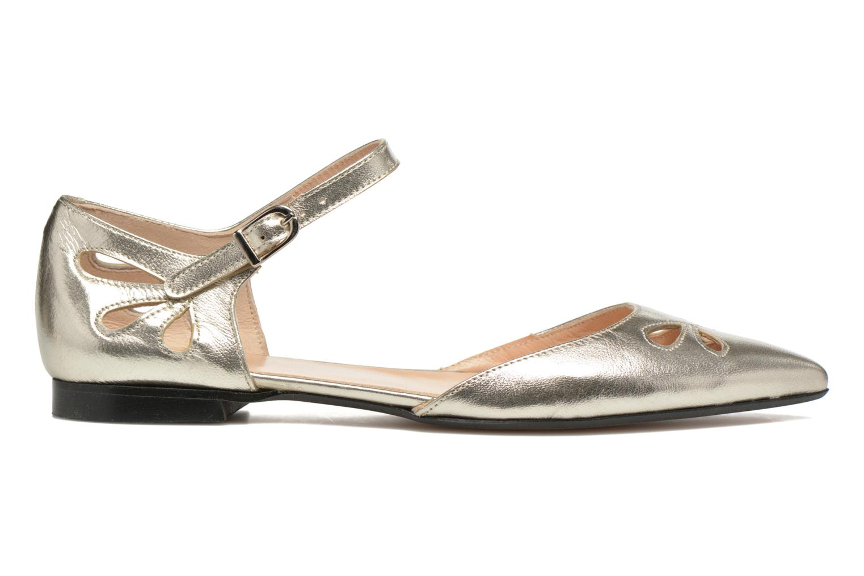 Ballet pumps Made by SARENZA Vegas Lipstick #2 Silver detailed view/ Pair view
