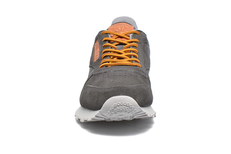 Baskets Reebok Cl Leather Ol Gris vue portées chaussures
