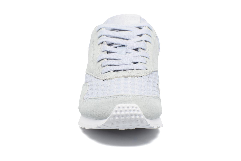 Baskets Reebok Cl Nylon Slim Architect Gris vue portées chaussures