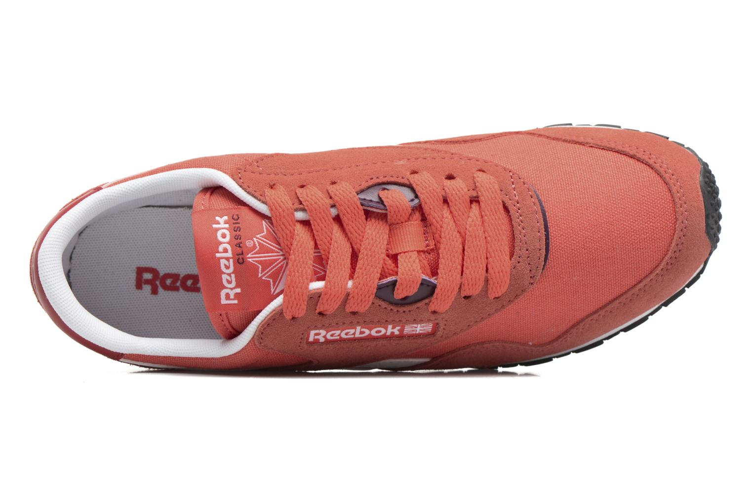 Cl Nylon Slim Hv Fire Coral/Canyon Red/Wht/Pacific Purple