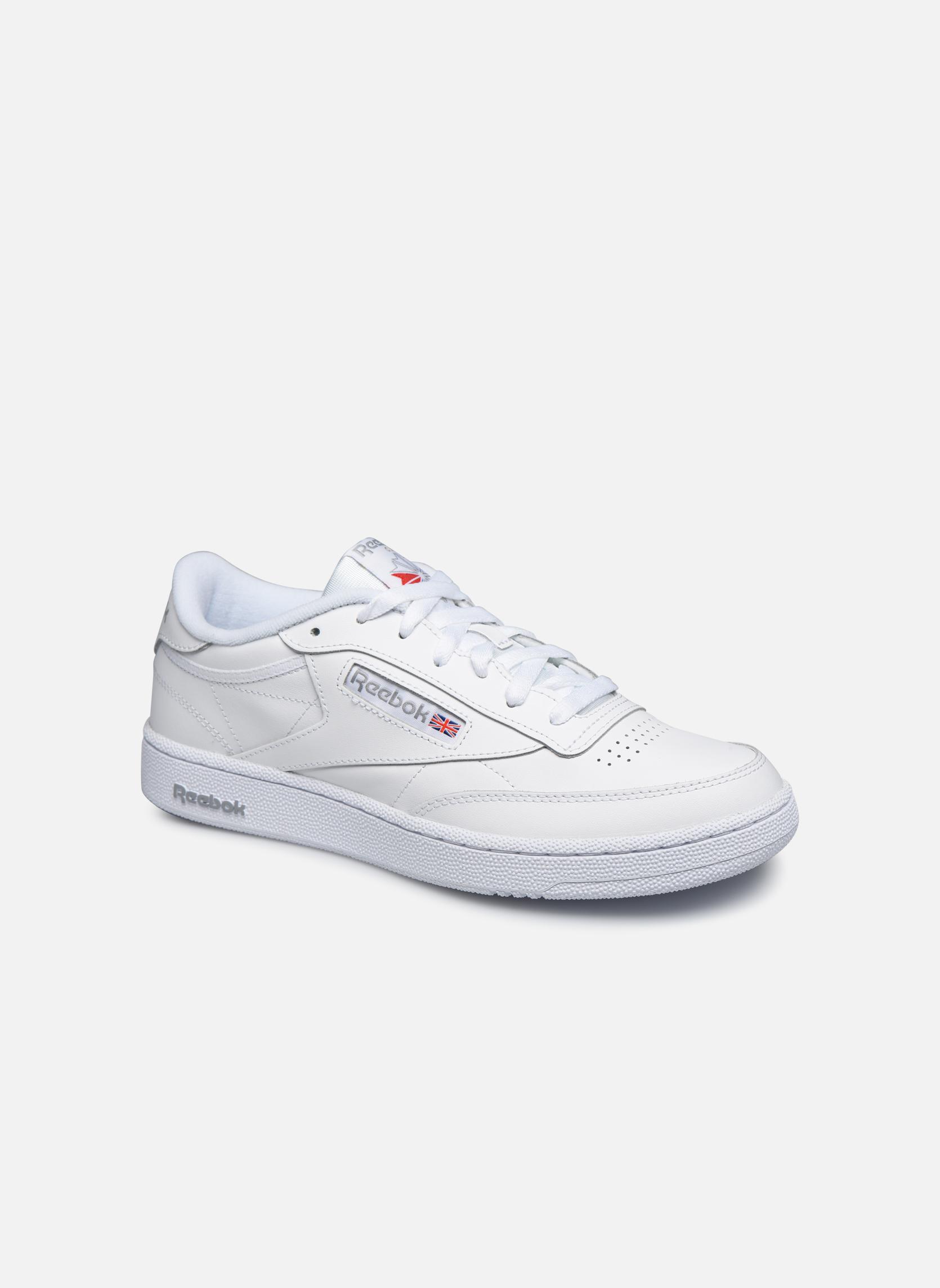 Int-White/Royal-Gum Reebok Club C 85 (Blanc)