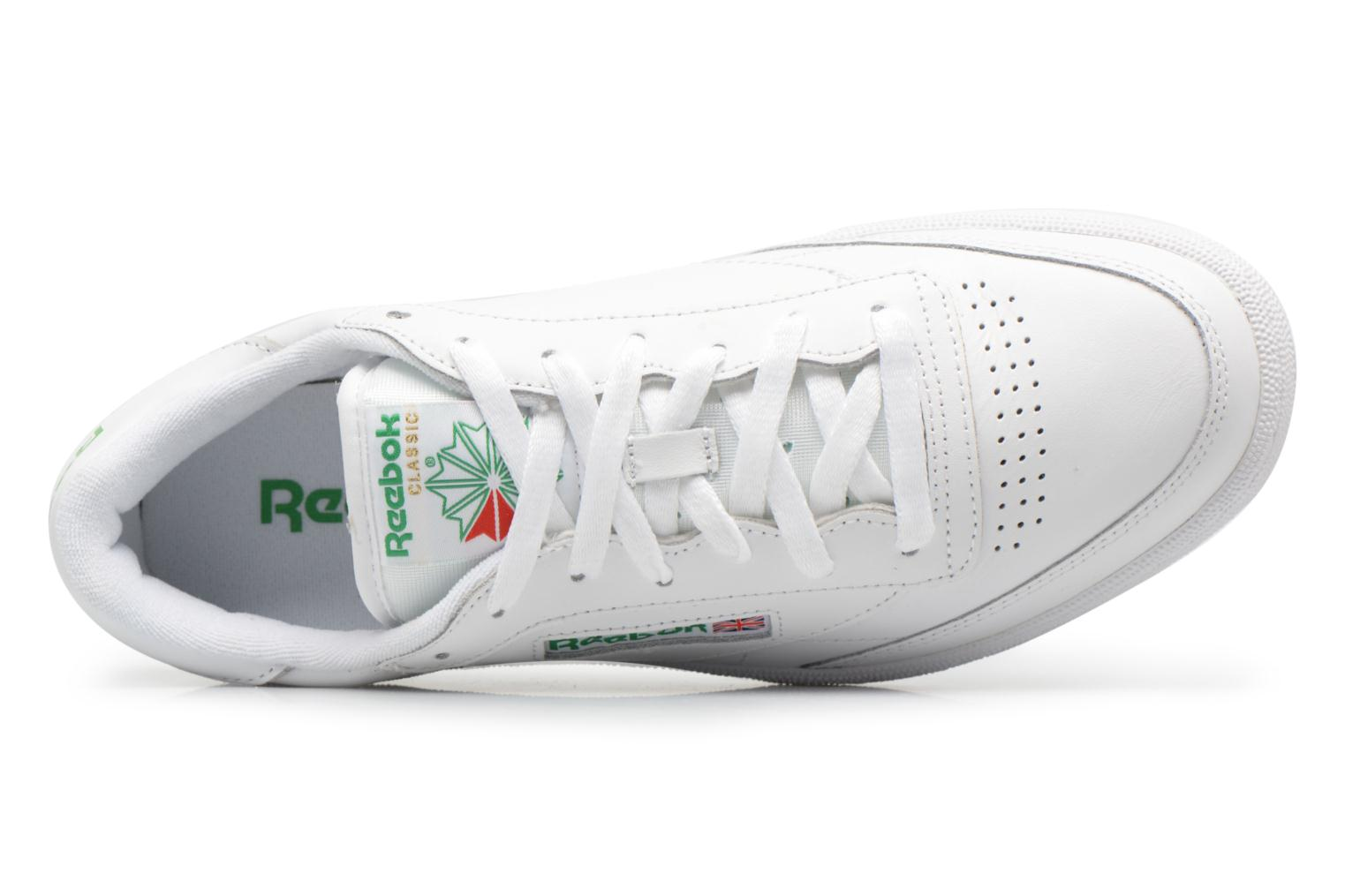 Int-White/Navy Reebok Club C 85 (Blanc)
