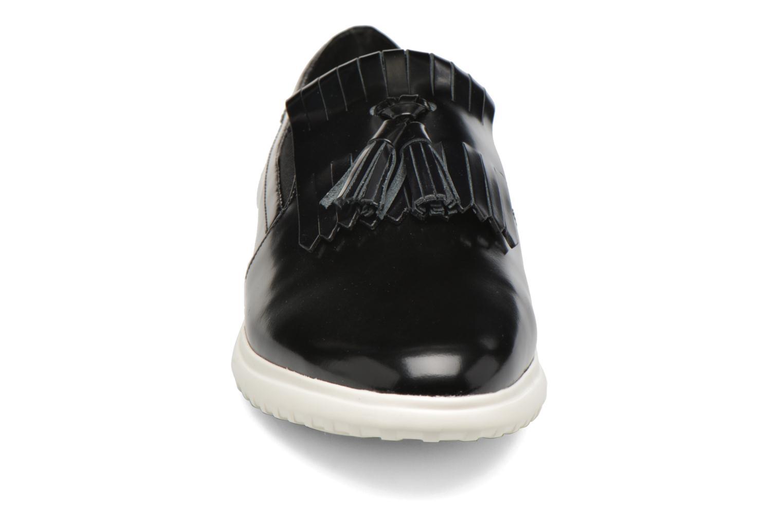 Mocassins What For Poppy Noir vue portées chaussures