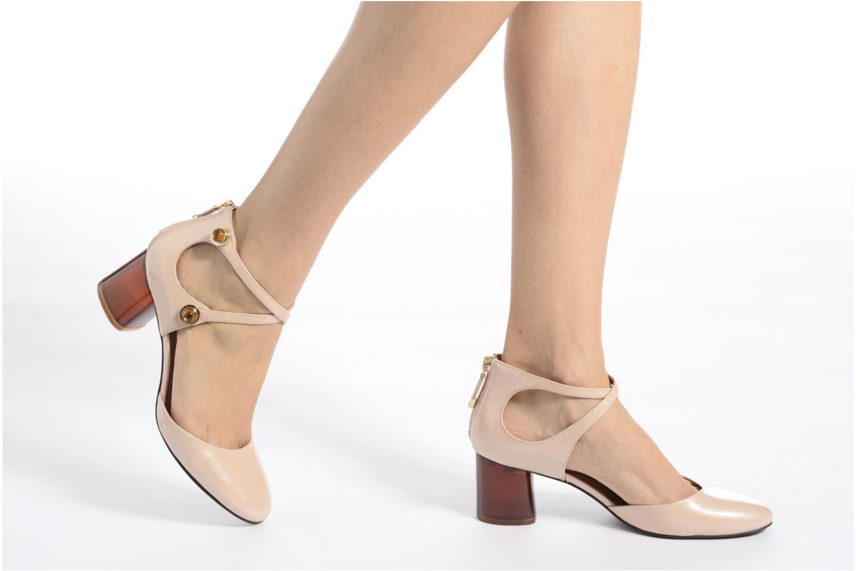 Zapatos de tacón What For Clover Rosa vista de abajo