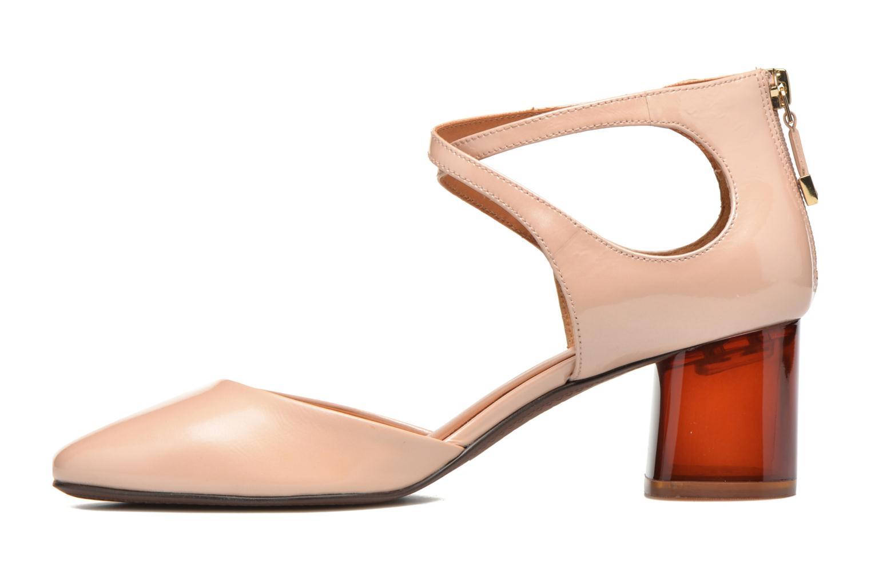 Zapatos de tacón What For Clover Rosa vista de frente