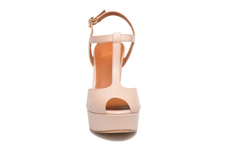Sandales et nu-pieds What For Dahlia Beige vue portées chaussures