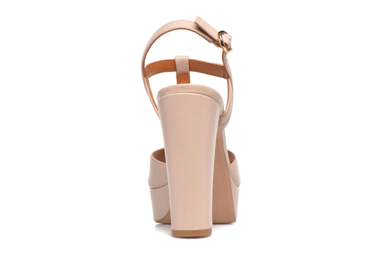Sandales et nu-pieds What For Dahlia Beige vue droite