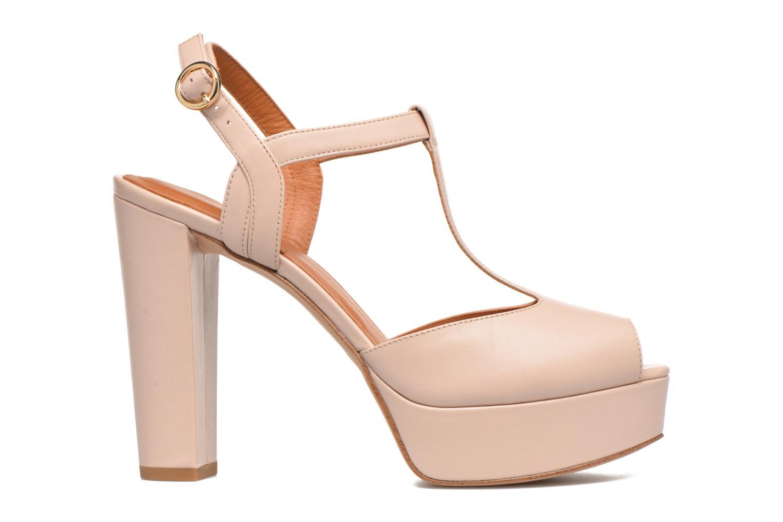 Sandales et nu-pieds What For Dahlia Beige vue derrière