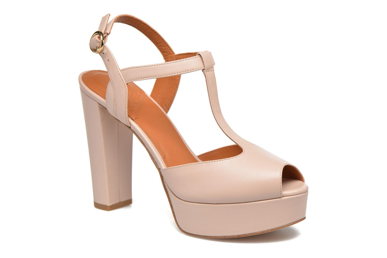 Sandales et nu-pieds What For Dahlia Beige vue détail/paire