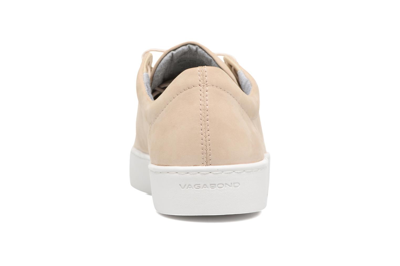 Baskets Vagabond Shoemakers ZOE 4326-050 Beige vue droite