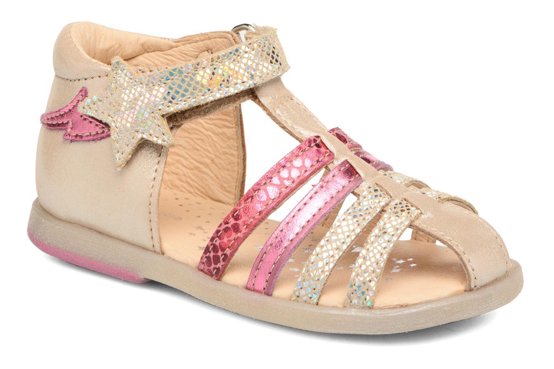 Sandales et nu-pieds Babybotte Tempete Multicolore vue détail/paire