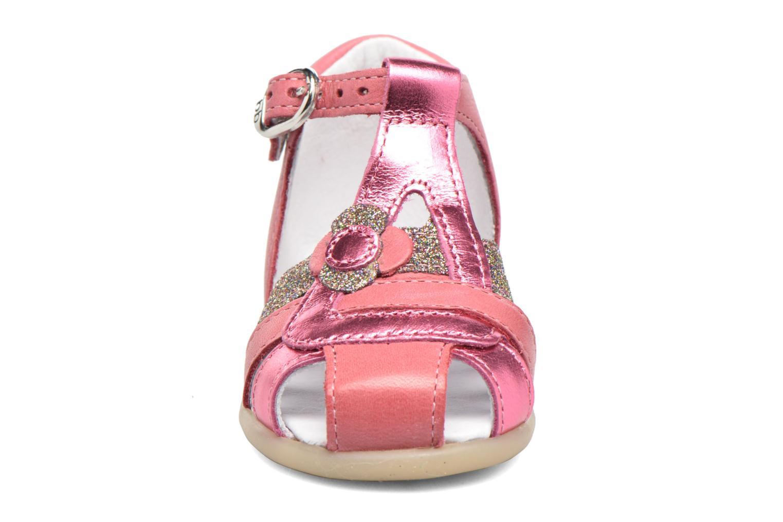 Sandales et nu-pieds Babybotte Glitter Rose vue portées chaussures