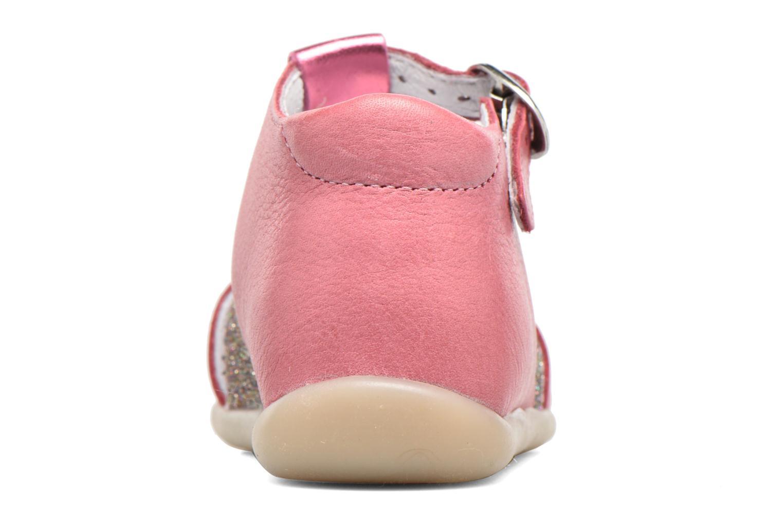 Sandales et nu-pieds Babybotte Glitter Rose vue droite