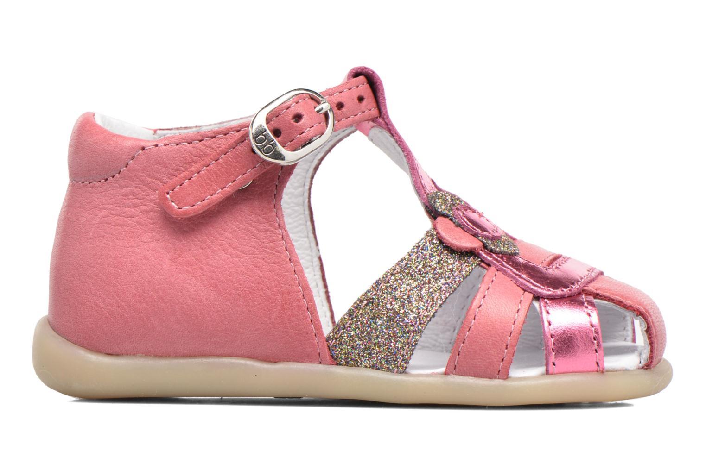 Sandales et nu-pieds Babybotte Glitter Rose vue derrière