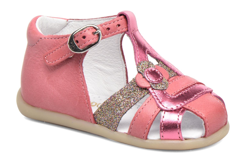 Sandales et nu-pieds Babybotte Glitter Rose vue détail/paire
