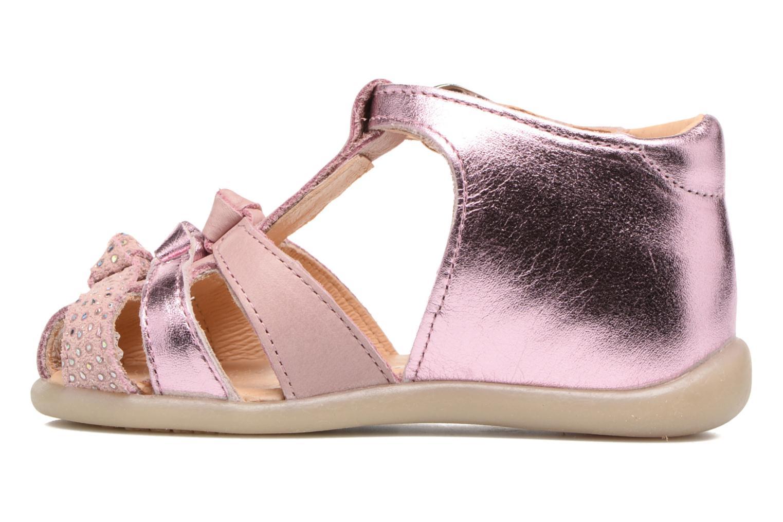 Sandales et nu-pieds Babybotte Guimauve Rose vue face