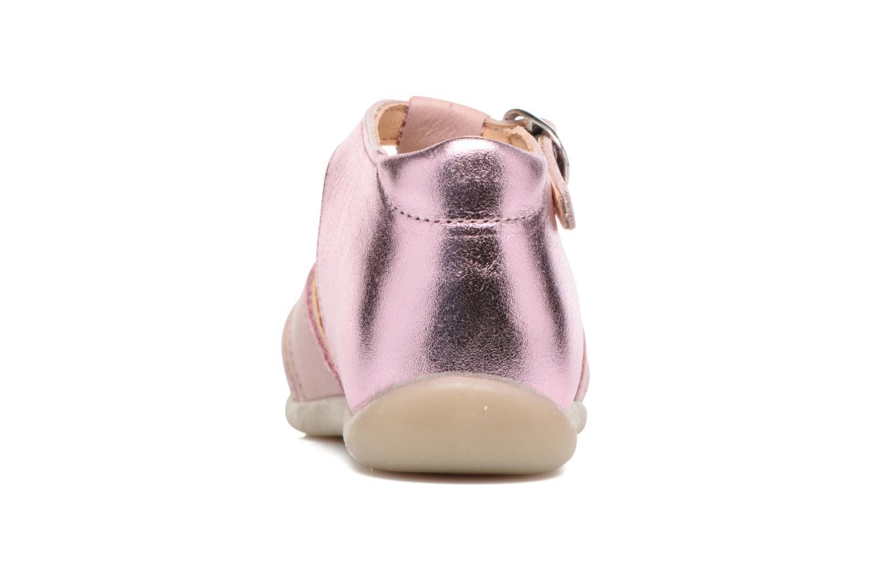 Sandales et nu-pieds Babybotte Guimauve Rose vue droite