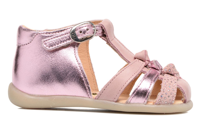 Sandales et nu-pieds Babybotte Guimauve Rose vue derrière