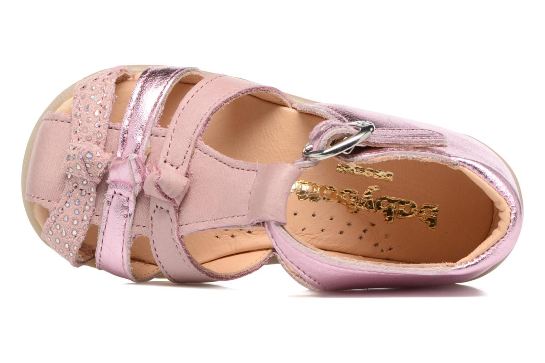 Sandales et nu-pieds Babybotte Guimauve Rose vue gauche