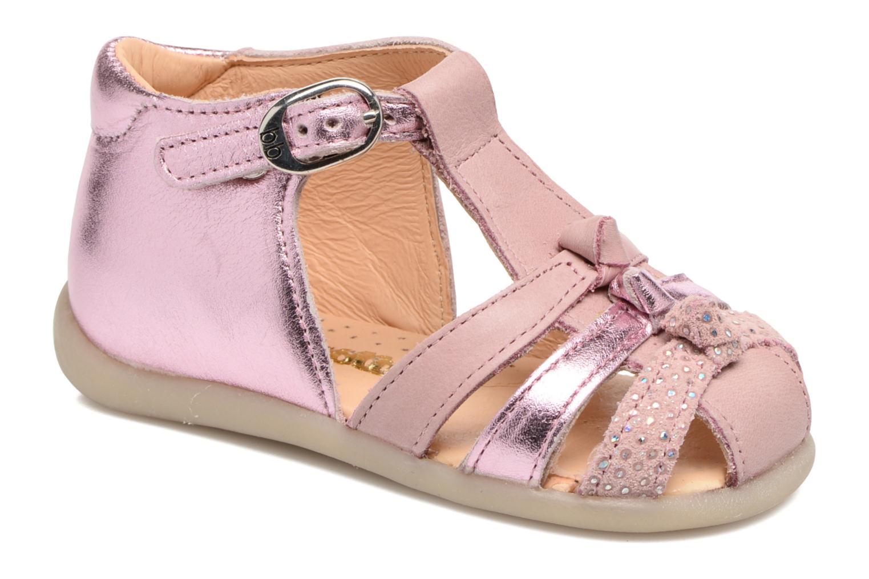 Sandales et nu-pieds Babybotte Guimauve Rose vue détail/paire