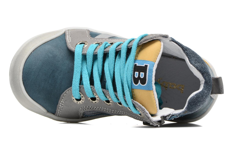 Baskets Babybotte Artistreet Bleu vue gauche