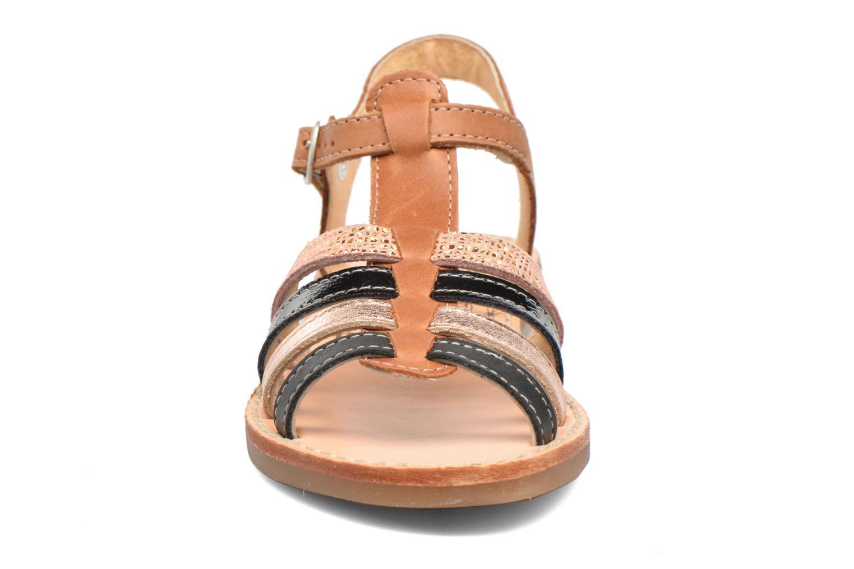 Sandales et nu-pieds Babybotte Ylona3 Marron vue portées chaussures