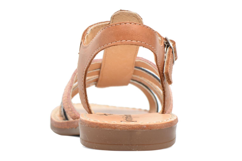Sandales et nu-pieds Babybotte Ylona3 Marron vue droite