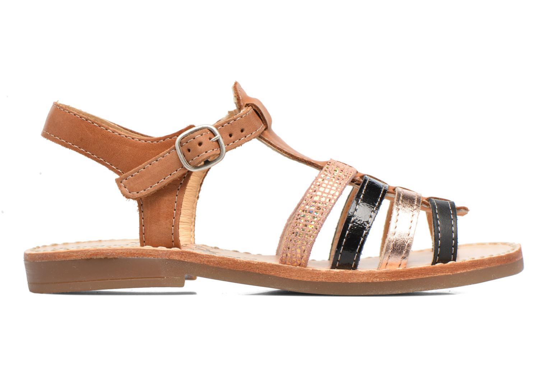Sandales et nu-pieds Babybotte Ylona3 Marron vue derrière