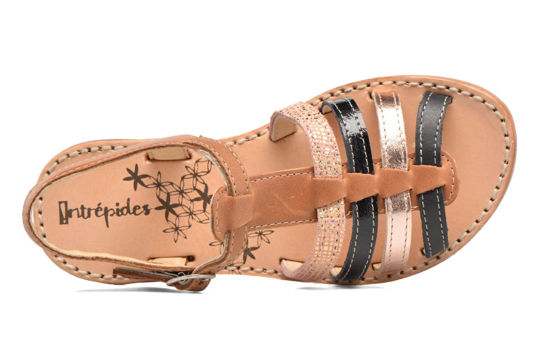 Sandales et nu-pieds Babybotte Ylona3 Marron vue gauche