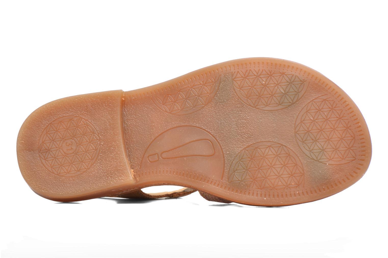 Sandales et nu-pieds Babybotte Ylona3 Marron vue haut