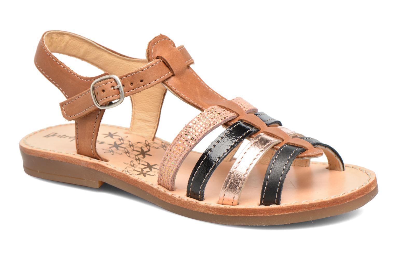 Sandales et nu-pieds Babybotte Ylona3 Marron vue détail/paire