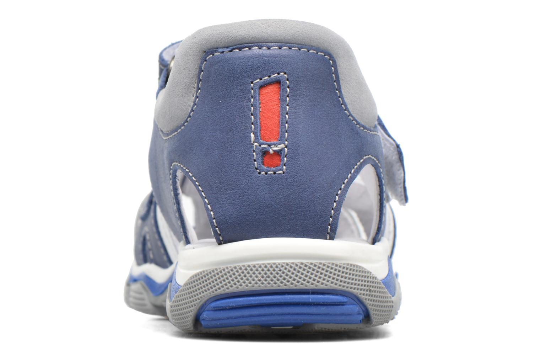 Sandalen Babybotte Karter Blauw rechts