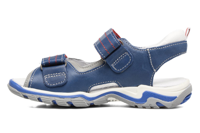 Sandales et nu-pieds Babybotte Karbu Bleu vue face