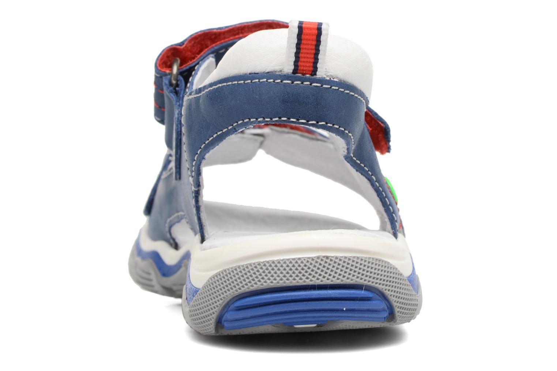 Sandales et nu-pieds Babybotte Karbu Bleu vue droite