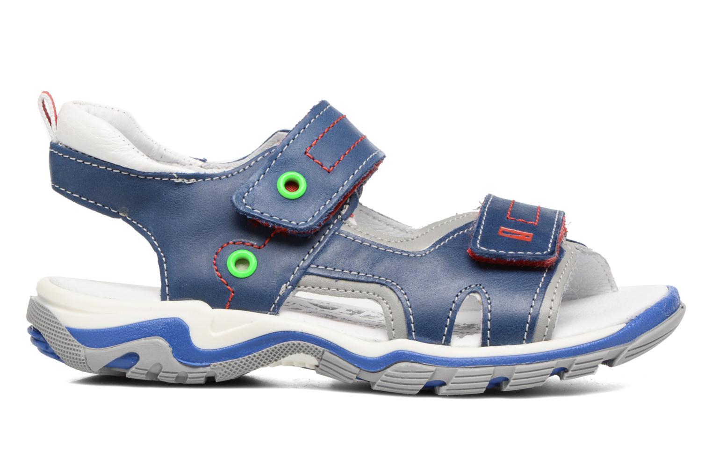 Sandales et nu-pieds Babybotte Karbu Bleu vue derrière
