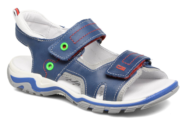 Sandales et nu-pieds Babybotte Karbu Bleu vue détail/paire