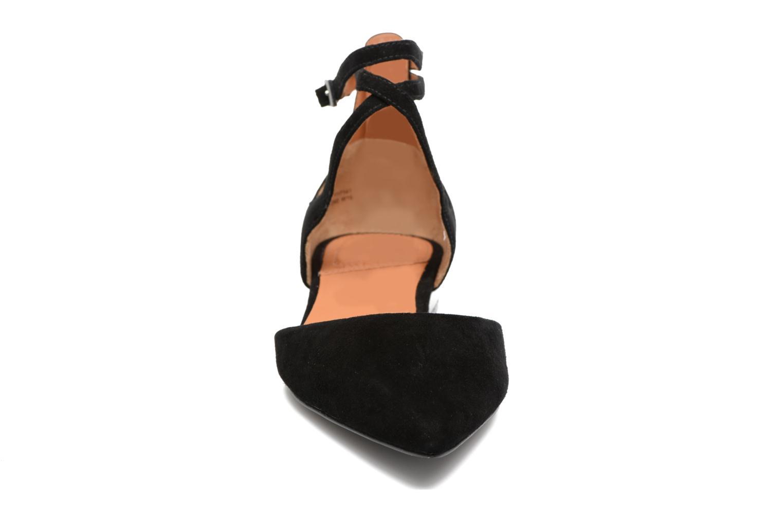 Ballerines What For Comet Noir vue portées chaussures