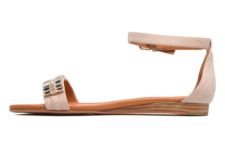Sandales et nu-pieds What For Venus Beige vue face