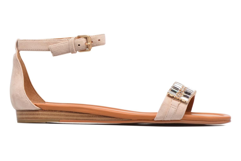 Sandales et nu-pieds What For Venus Beige vue derrière