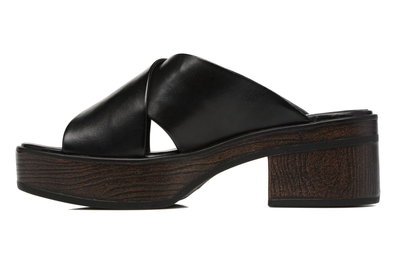 Wedges Vagabond Shoemakers Noor 4336-101 Zwart voorkant